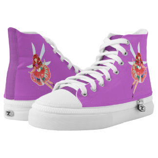 Ruby Official Dress Zipz High Top Shoes