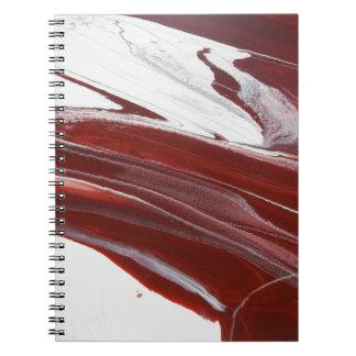 Ruby Pillars Notebook