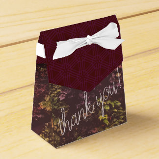 Ruby Plant Wall Thank You Gift Bag Favour Box