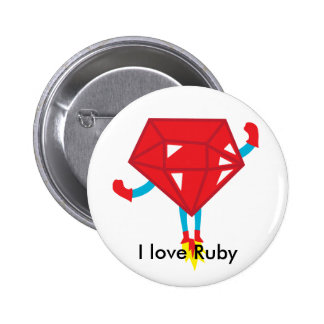 Ruby power pinback buttons