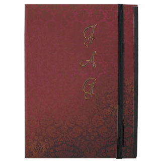 "Ruby Red Damask iPad Pro 12.9"" Case"