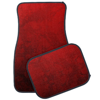 Ruby Red Design Car and Truck Mats