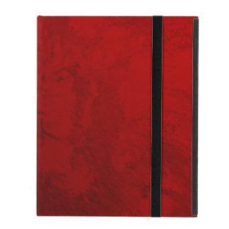 Ruby Red Design iPad Folio Case