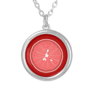 Ruby Red Grapefruit Pendant