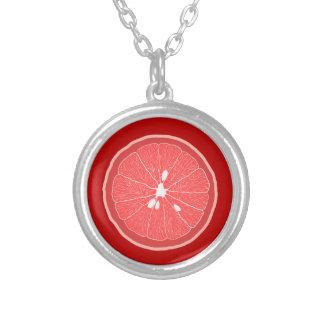 Ruby Red Grapefruit Pendant