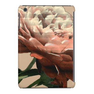 Ruby Red Rose with White Accents iPad Mini Retina Covers