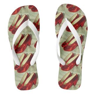 Ruby Slippers flip flops! Thongs