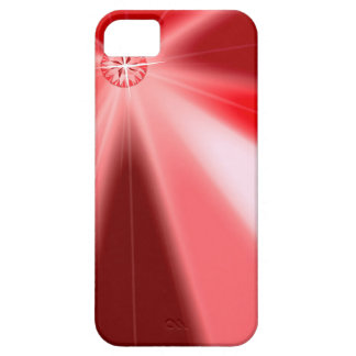 Ruby Starburst Barely There iPhone 5 Case