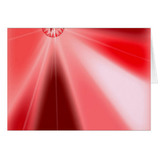 Ruby Starburst Card