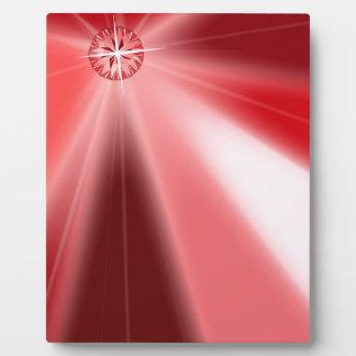 Ruby Starburst Plaque
