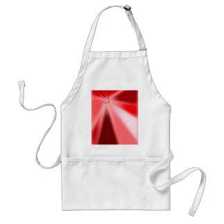 Ruby Starburst Standard Apron