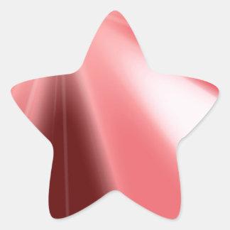 Ruby Starburst Star Sticker