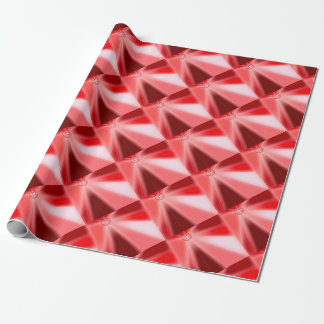 Ruby Starburst Wrapping Paper