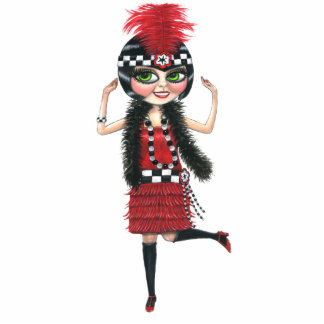 Ruby the Roaring '20s Flapper Photo Sculpture