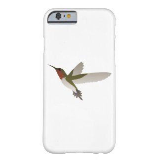Ruby Throated Hummingbird Barely There iPhone 6 Case