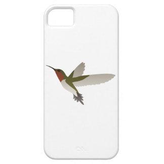 Ruby Throated Hummingbird iPhone 5/5S Case