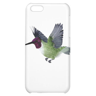 Ruby Throated Hummingbird Male iPhone 5C Cases