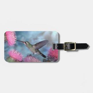 Rubythroat Hummingbird Luggage Tag