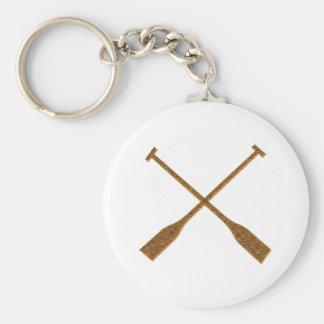 Rudder oars key ring