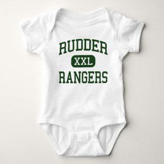 Rudder - Rangers - High School - Bryan Texas Baby Bodysuit