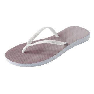 Ruddy Brown Ombre Wave flip-flops Thongs
