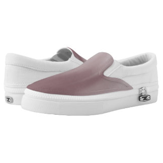 Ruddy Brown Ombre Wave Z slipons Printed Shoes
