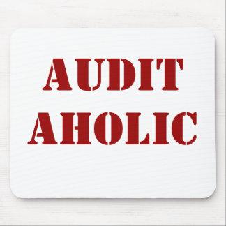 Rude Auditor Nickname - Auditaholic Mouse Pad