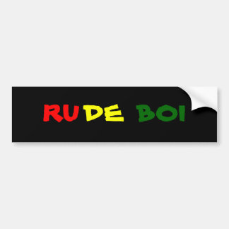 RUDE BOI BUMPER STICKER