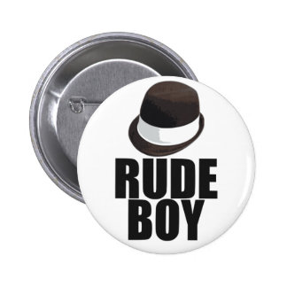 Rude Boy 6 Cm Round Badge