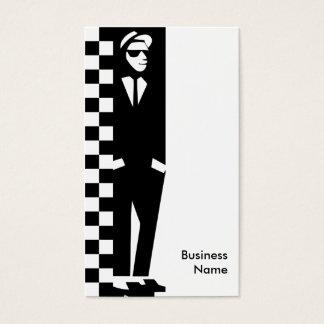 rude boy : ska business card