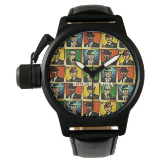 Rude Boy USA Abstract  Watch