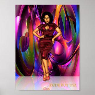 Rude Boy USA Celia Jones Poster