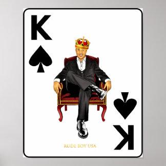 Rude Boy USA - John LeBlanc, King of Spades Poster