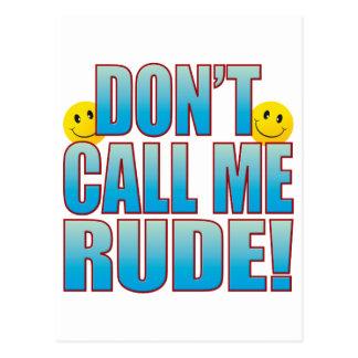 Rude Call Life B Postcard