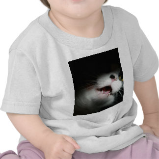 Rude Cat Custom and Sayings Tshirt