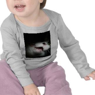 Rude Cat Custom and Sayings T Shirts