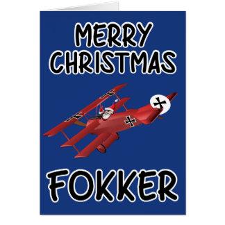 Rude Christmas Greeting Card