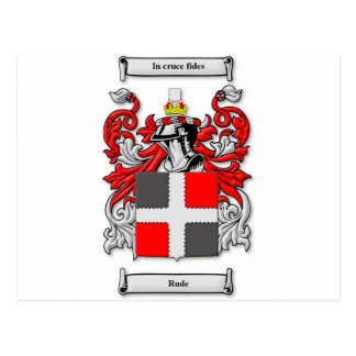 Rude Coat of Arms Postcards