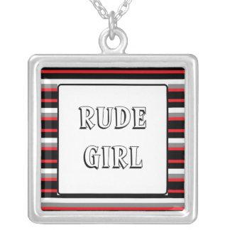 Rude Girl Pendants
