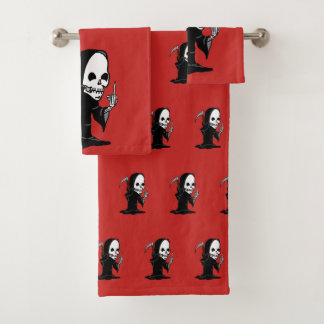 Rude Reaper Bath Towel Set