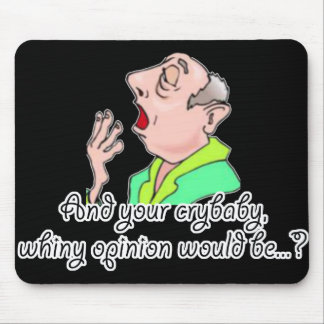 Rude Sarcastic Funny Gift Mouse Pad
