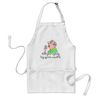 Rude Sarcastic Funny Gift Standard Apron