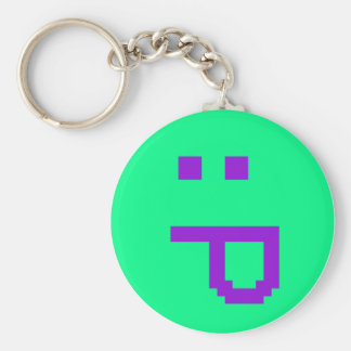 rude smiley keychains