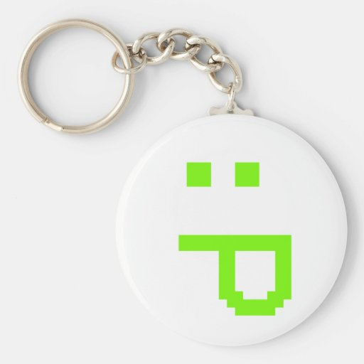 rude smiley key chains