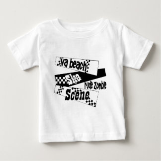 Rude Zombie ska scene Baby T-Shirt