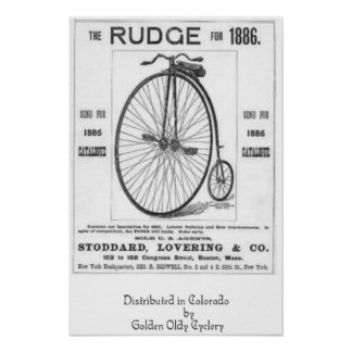 Rudge Cycles Poster