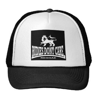 Rudies Don't Care - SKA - Rudeboys - Mods Cap