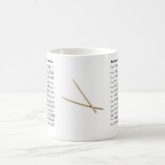 rudiments-sticks coffee mug