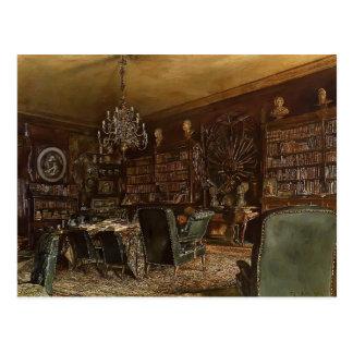 Rudolf Alt-Library of the Palais Lanckoronski Postcard