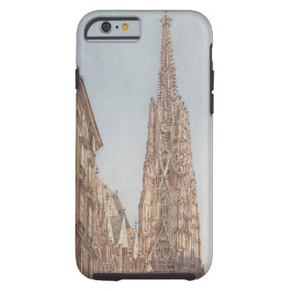 Rudolf Alt- The St. Stephen's Cathedral in Vienna Tough iPhone 6 Case